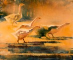 Evening (Geese)